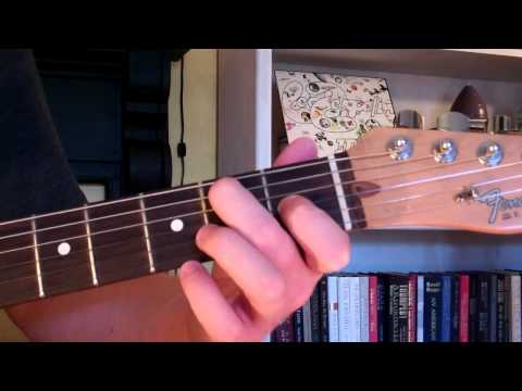 How To Play the Bm6 Chord On Guitar (B minor sixth) 6th