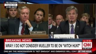 FBI Director Nominee on Mueller