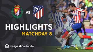 Highlights Real Valladolid vs Atletico de Madrid (0-0)