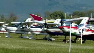 Meeting di Primavera 2016, aviazione da diporto a Castiglione del Lago immagini Claudio Burani