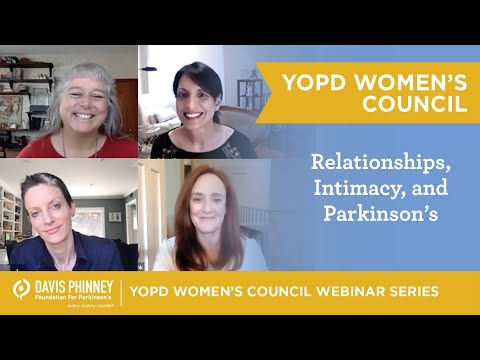YOPD Women's Council – Relationships, Intimacy, and Parkinson's