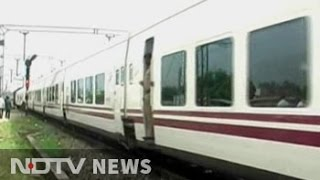 High-speed Spanish Talgo train begins trial run in India