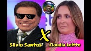 Baixar Silvio Santos Constrange Claudia Leitte Ao Vivo No Programa Teleton 2018