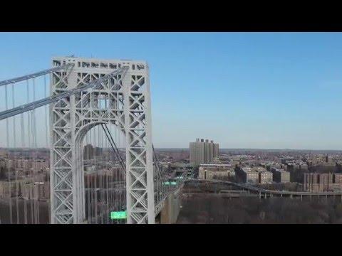 dji Phantom 4 NYC Bronx Bridge Brawl in 4K