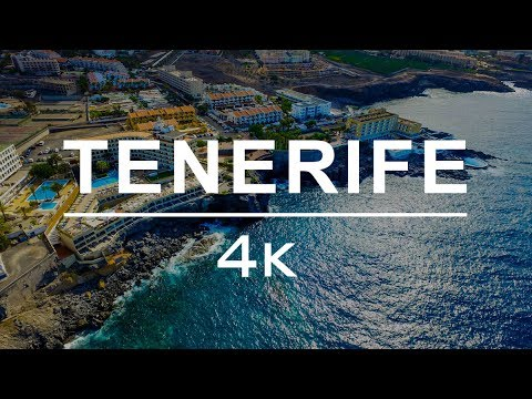 BEST VACATION SPOT IN THE WORLD | TOP TRAVEL DESTINATION - TENERIFE - CANARY ISLANDS BY DRONE