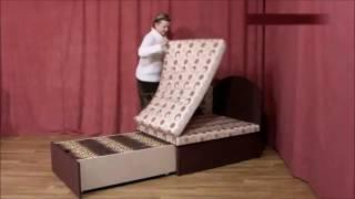 видео Угловой диван Серенада