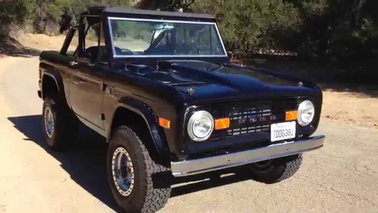 1977 Classic Ford Bronco Black Custom #2 in Chatsworth CA by Rocky ...