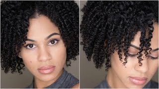 natural hair 3 strand twist out tutorial