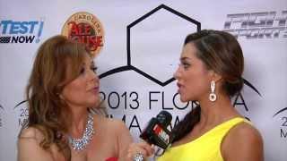 Susan Cingari interviews MMA personality Andrea Calle at the South Florida MMA Awards