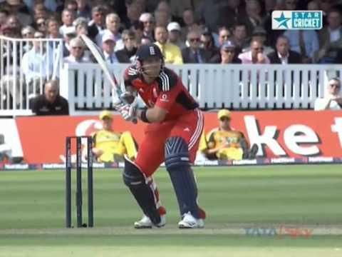 Brett Lee 5 for 49  Australia v England 4th ODI at Lords 2009