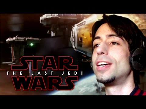 STAR WARS: THE LAST JEDI Teaser - REACCIÓN