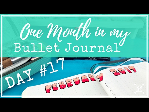 One Month in my Bullet Journal - Day 17