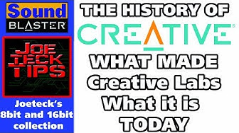 The History of Creative Labs | 8Bit/16bit Sound card collection | JoeteckTips