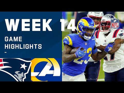 Patriots vs. Rams Week 14 Highlights   NFL 2020