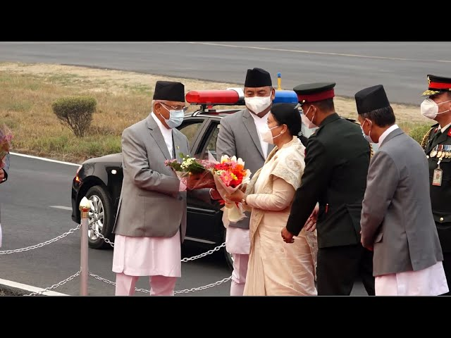 राष्ट्रपति भण्डारी बङ्गलादेशको दुईदिने राजकीय भ्रमण सम्पन्न गरि स्वदेश फिर्ता #ournewscrew
