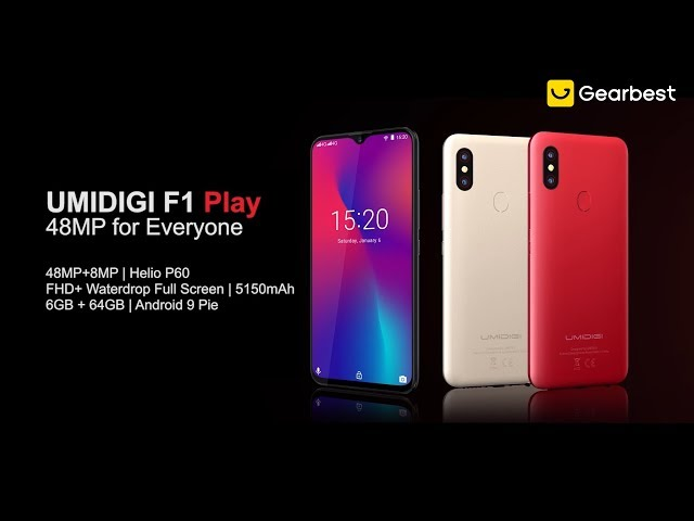 UMIDIGI F1 Play Android 9 0 4G Phablet