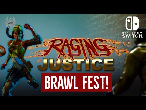 RAGING JUSTICE! NINTENDO SWITCH! STAGE 2! GAMERZWORLD! LETS PLAY!