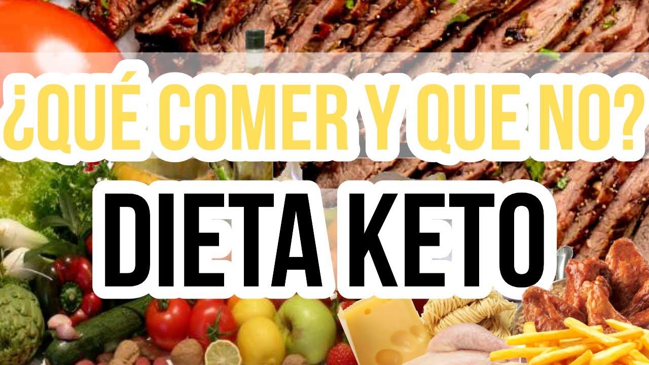 Alimentos Permitidos Y Prohibidos En La Dieta Cetogénica Dieta Keto Dieta Baja En Carbohidratos Youtube