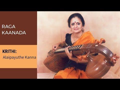 Alaipayuthe Kanna   Veena recital of raga Kannada by Jayalakshmi Sekhar 012