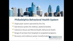 Designing and Administering a Unified Behavioral Health Program