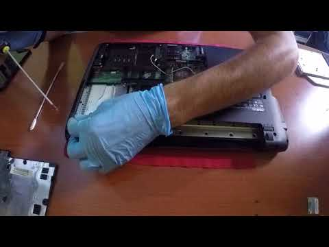 Asus K52J - GPU and CPU cleaning for thermal paste replacement