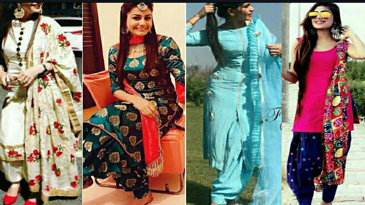 New Punjabi Suit Design 2020 Punjabi New Designer Suit New Punjabi Designer Suit 2020 Youtube