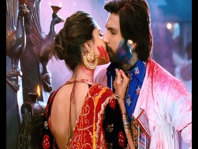 Ram leela kissing scene cut short Travel Video