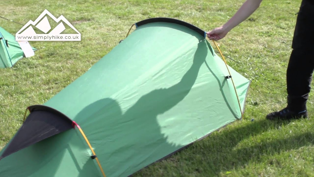 Wild Country Coshee Micro Tent - .simplyhike.co.uk & Wild Country Coshee Micro Tent - www.simplyhike.co.uk - YouTube