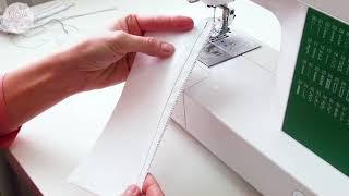 Как обработать край строчки без оверлока