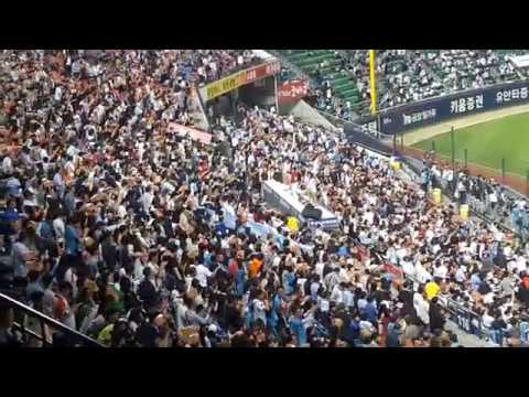 Korea Baseball Cheering 2 - Lotte Giants fans