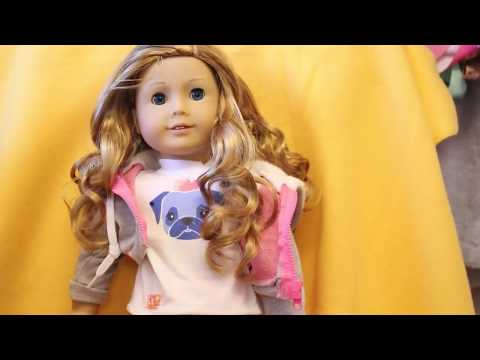 How To Care For American Girl Doll With Curly Hair!!