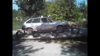 Правильное выполнение фигур на автодроме