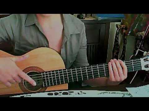Te amo guitar