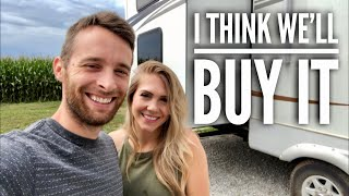 Picking Up the RV & Truck // RV NEWBIES // 1st Time Towing an RV!! (Ep5)