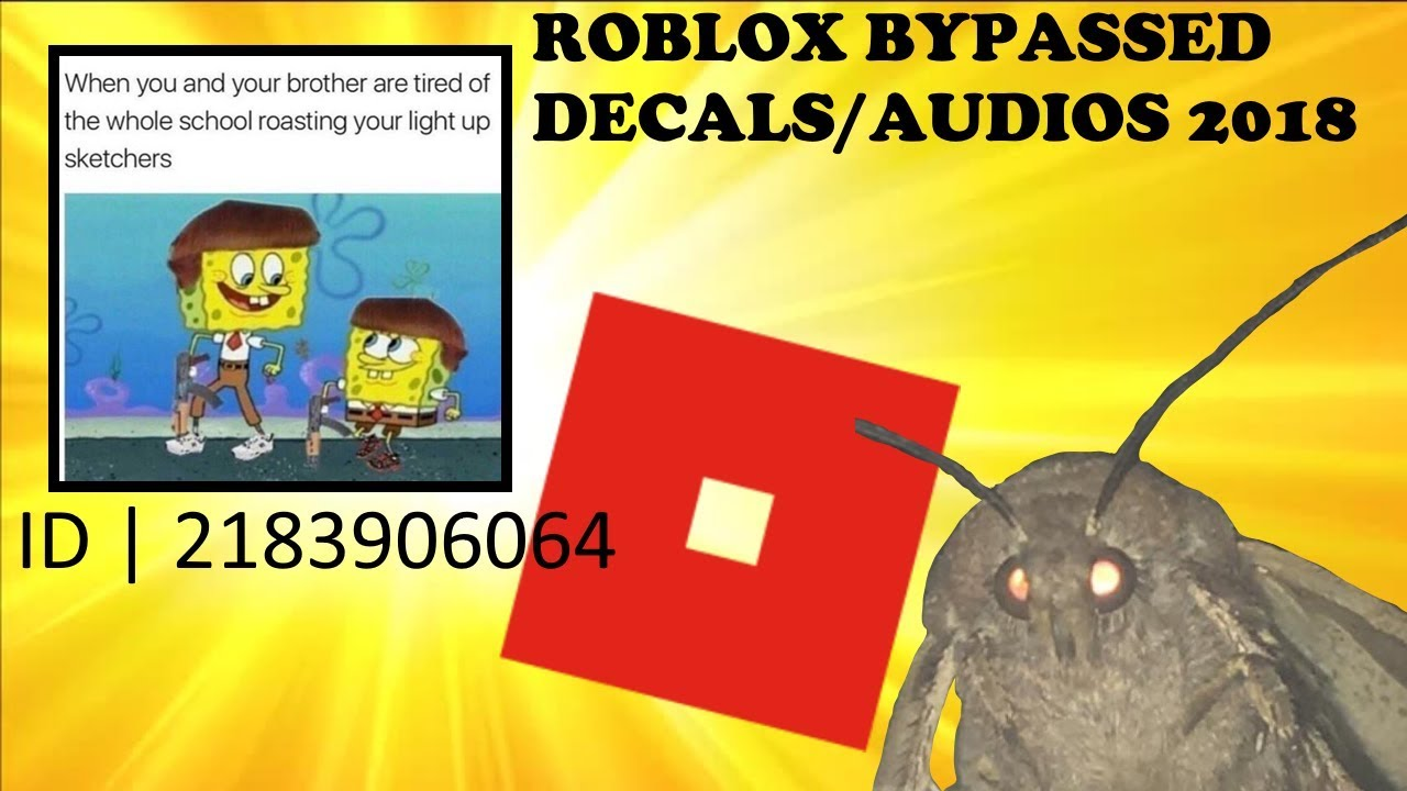 Meme Roblox Decal Ids Rare Decals Roblox Bypassed Audios Decals 2018 Youtube