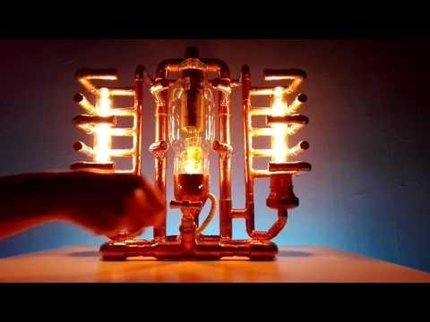 Copper Table Lamp - Thyratron