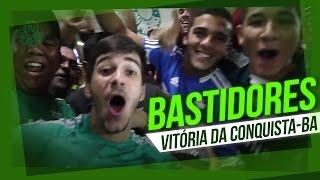 Bastidores da chegada do Palmeiras em Vitória da Conquista (BA)