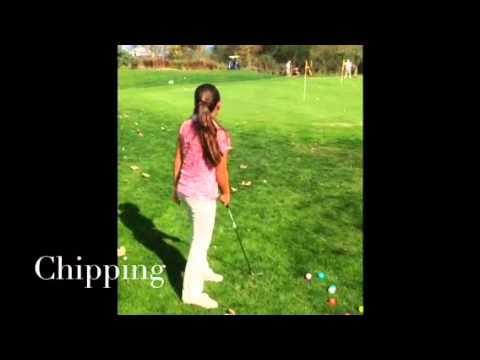 Chloe Junior Golf Instruction