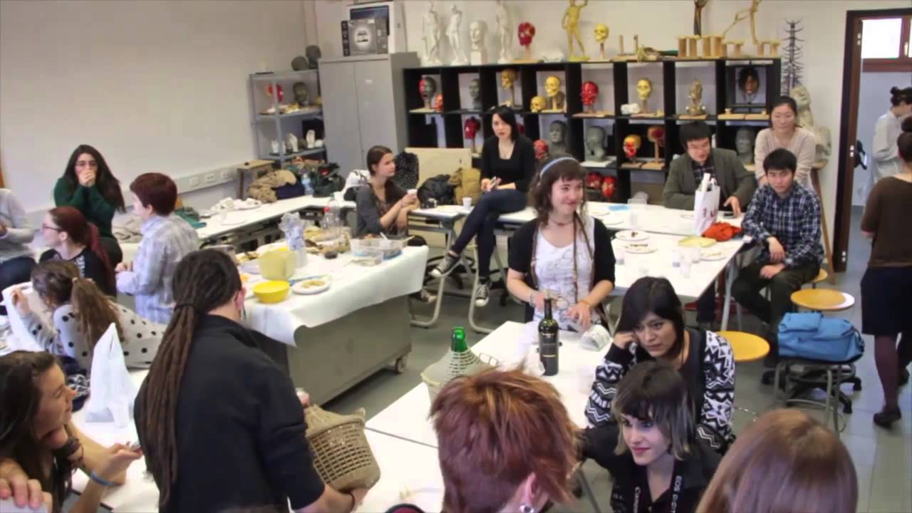Erasmus in accademia di belle arti youtube for Accademia delle belle arti corsi
