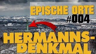 HERMANNSDENKMAL | SCHNEESTURM NACH BESUCH! | EPISCHE ORTE #004