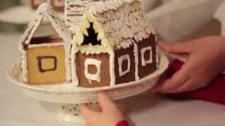 Kalėdiniai SELGA sausainių nameliai