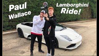 Paul Wallace Scares me in is Lamborghini Murcielago! ( SuperCarsOfLondon )