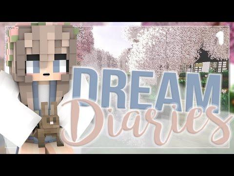 DREAM DIARIES | A kAWAII SERIES | MODDED MINECRAFT | EP 1 (⌒▽⌒)♡