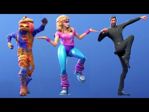 Fortnite All Dances Season 1-5 Updated to Work it Out