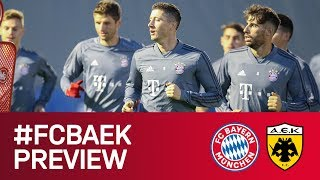 Preview: The Day before the Home Match against AEK Athens | Champions League - Matchday 4