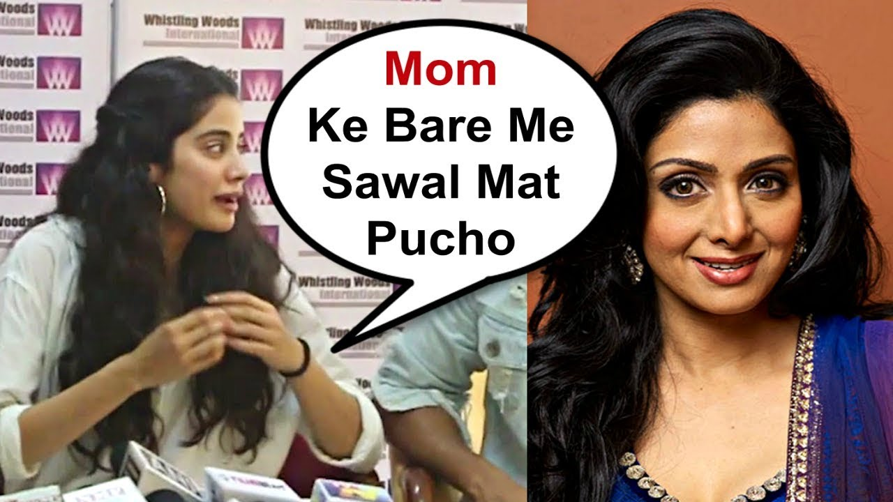 Jhanvi Kapoor Shocking Reaction On Mother Sridevi Biopic Playing By Rakul Preet