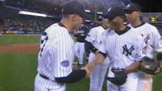 Mo picks up save on final Opening Day at old Yankee Stadium