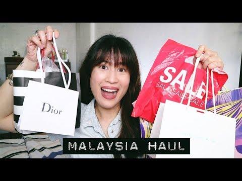 DIOR, SEPHORA, MONKI & MORE! | Malaysia Haul | Karla Aguas