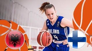 Albania v Finland - Full Game - FIBA U16 Women's European Championship Division B 2018 thumbnail