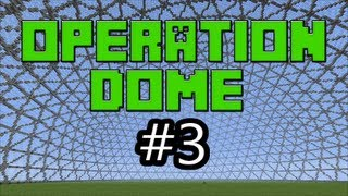 Minecraft Xbox 360 - Operation Dome #3 - Plastic Texture Pack Edition.